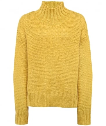 Mohair Cosimo Turtleneck Jumper