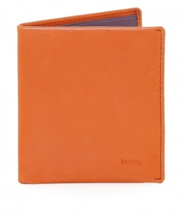 Leather Note Sleeve Wallet