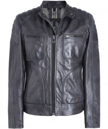 Leather Weybridge Jacket