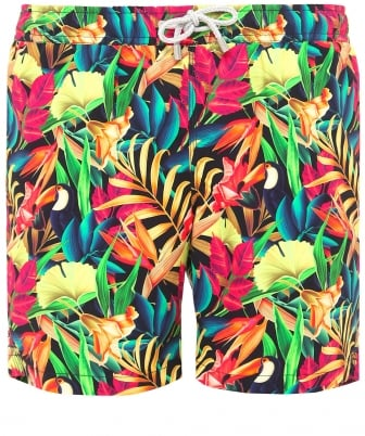 Mid Length Arthur Jungle Swim Shorts