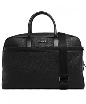 Grain Leather Traveller Holdall