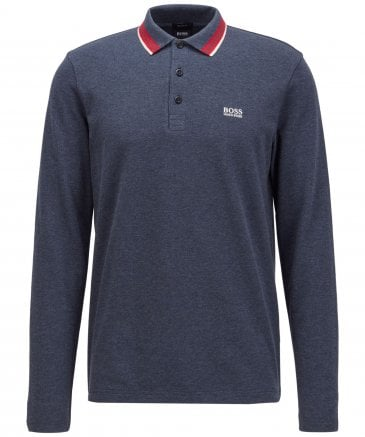Modern Fit Plisy Polo Shirt