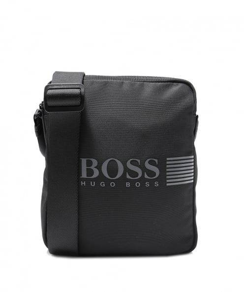 BOSS Green Pixel_NS Zip Crossbody Bag