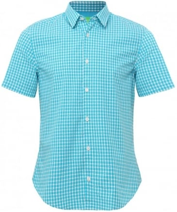 Regular Fit Short Sleeve C-Bustanio Shirt