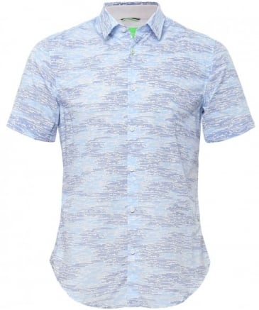 Slim Fit Short Sleeve Bhillo Shirt