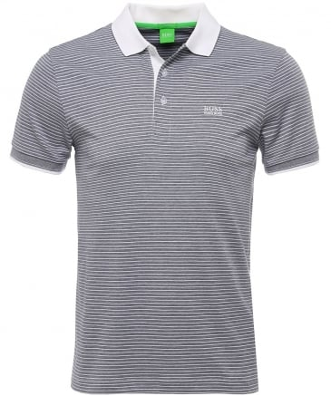 Striped Jersey Paddos Polo Shirt