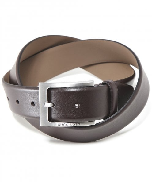 BOSS Leather Barnabie Belt