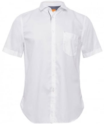 Slim Fit Short Sleeve Cattitude Shirt
