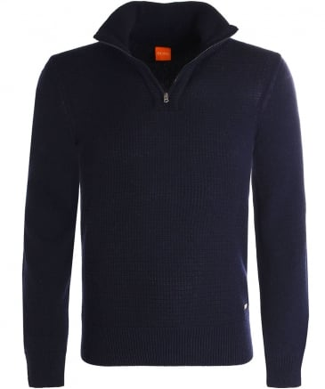 Wool Almore Half-Zip Jumper