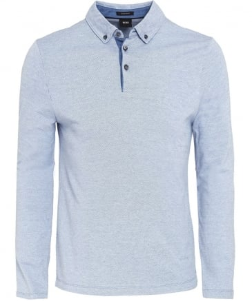 Regular Fit Long Sleeve Pickell Polo Shirt