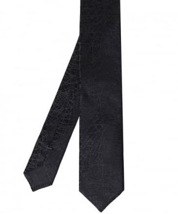 Silk Linear Pattern Tie