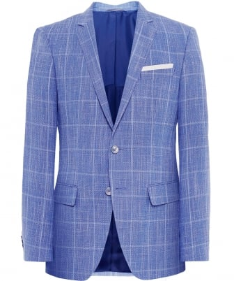 Slim Fit Linen Blend Hutsons Jacket