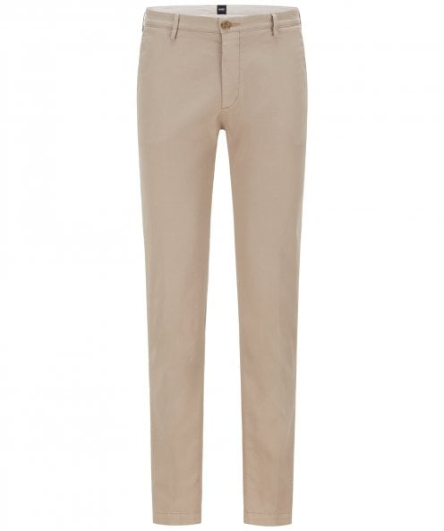 BOSS Slim Fit Rice Trousers