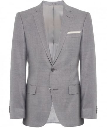 Slim Fit Silk Blend Hutsons3 Jacket