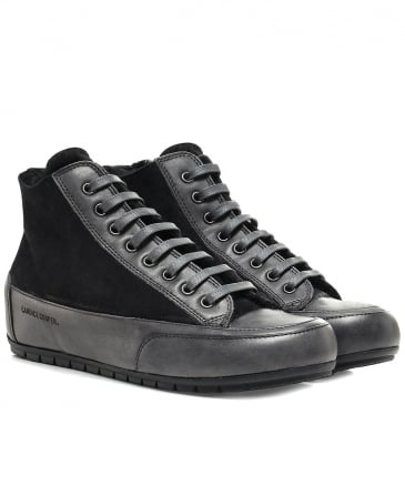 Chamois Leather Mont High Top Trainers
