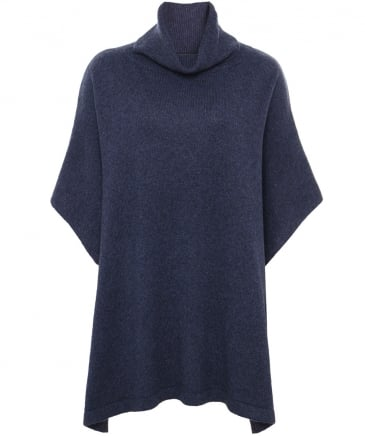 Elvy Turtleneck Poncho