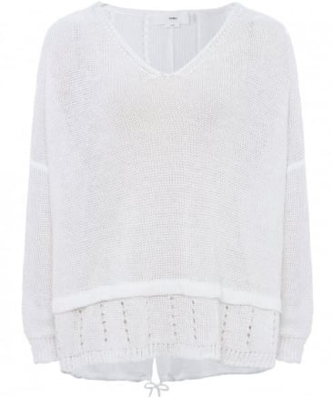 Linen Phyllis Knitted Top