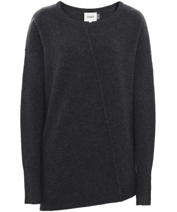 Wool Asymmetric Naya Jumper