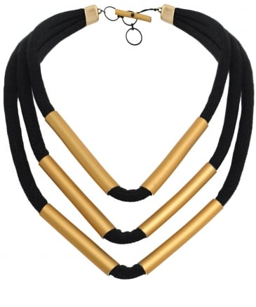 Multi Strand Tube Necklace