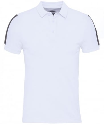 Padded Shoulder Polo Shirt