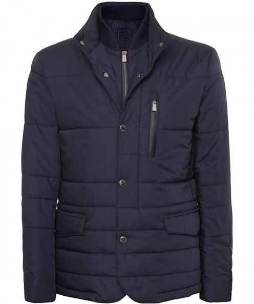Corneliani Baffle Quilted Jacket