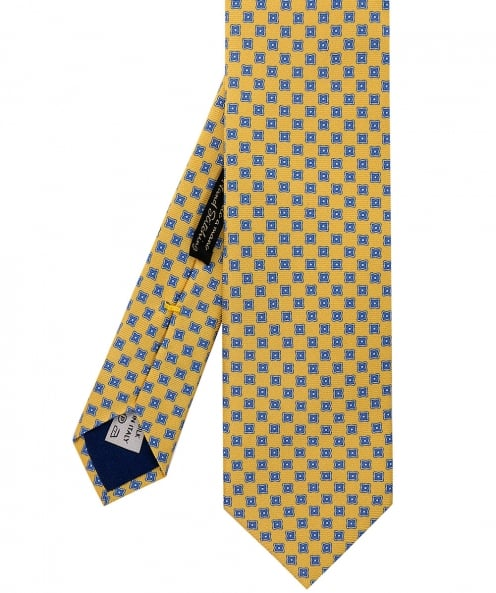 Corneliani Patterned Silk Tie