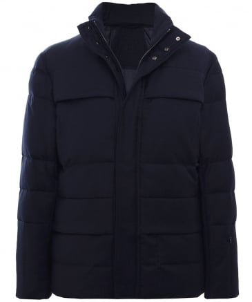 Wool Padded Down Jacket