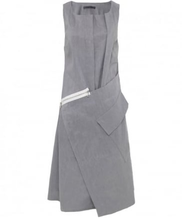 Asymmetric Zip Dress