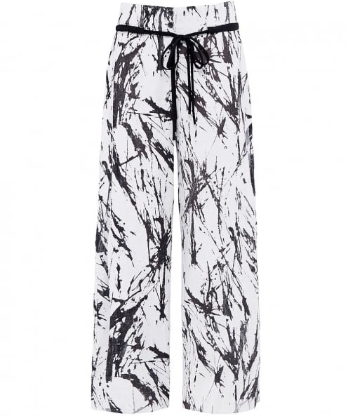 Crea Concept Birch Print Trousers