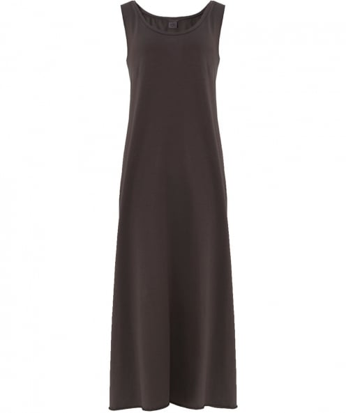 Crea Concept Jersey Back Button Maxi Dress