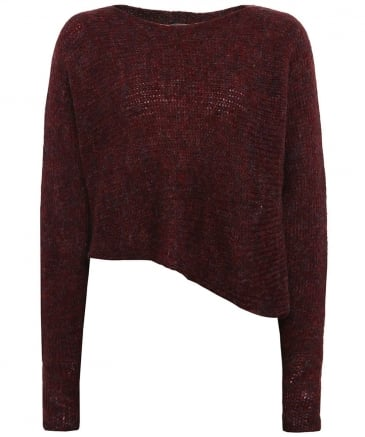 Wool Asymmetric Jumper