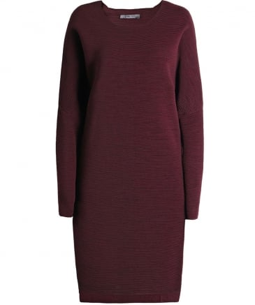 Wool Ribbed Dress