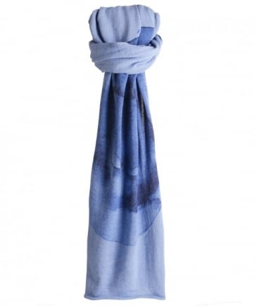 Wool Watercolour Scarf
