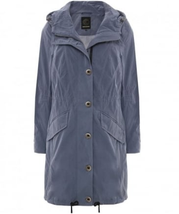 Matte Hooded Coat
