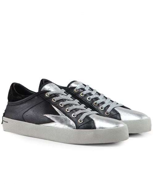 Crime London Faith Explosion Low Top Trainers