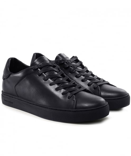 Crime London Leather Beat Trainers