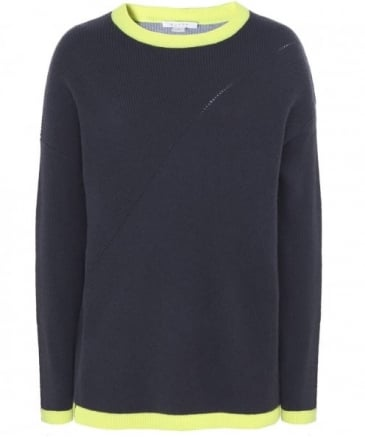 Sporty Two-Tone Jumper