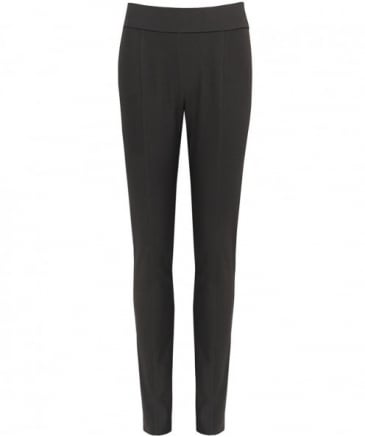 Stretch Crepe Trousers