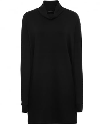 Tencel Funnel Neck Tunic