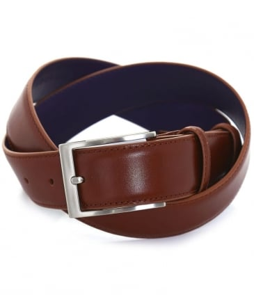 Smooth Chestnut Belt