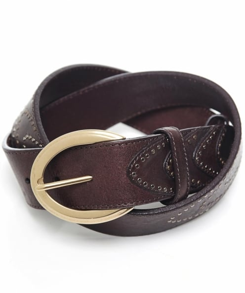 Elliot Rhodes Studded Leather Belt