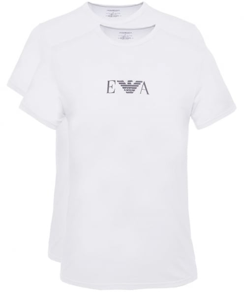 Emporio Armani Two Pack of Crew Neck T-Shirts