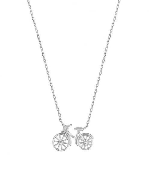 Estella Bartlett Bicycle Necklace