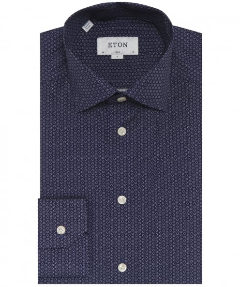 Eton Slim Fit Brighton Poplin Shirt