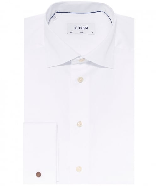 Eton Slim Fit Solid Shirt