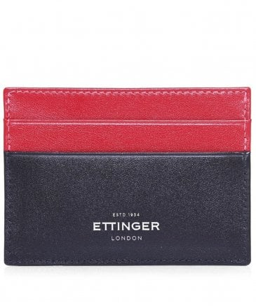 Calf Leather Sterling Flat Card Case