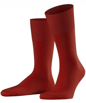 Virgin Wool Blend Airport Socks