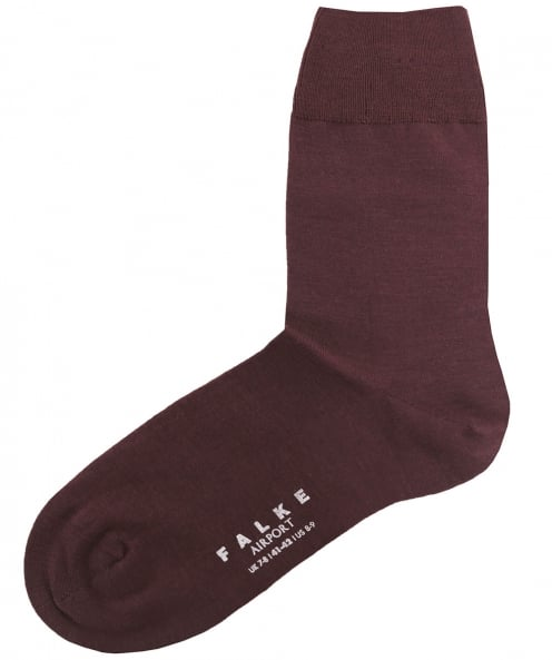 Falke Virgin Wool Blend Airport Socks