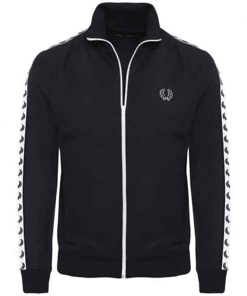 Fred Perry Laurel Wreath Tape Track Jacket