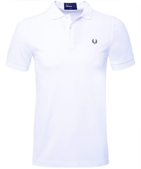 Fred Perry Slim Fit Plain Polo Shirt